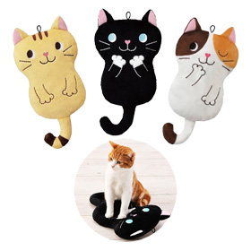 From simple and reasonable ones to sophisticated ones, how about a new toy for your cat?