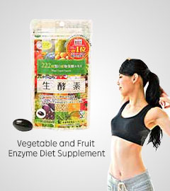 Vegetable and Fruit Enzyme Diet Supplement