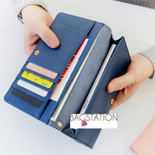*BAGSTATION*Korean Fashion Iconic Faux Leather Multifunction Smart Phone Wallet/Pouch Iphone 5/5s/6/6+, Samsung S5/S6/Note3/Note4 (NEW ARRIVAL)