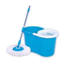 Spin Mop come with 2pcs Mop Heads @ Ready Stock