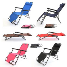 New Portable & Foldable Sleep Rest Seat Relex Laying Chair Nap Lounge Chair