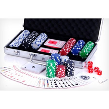 Poker Set with 300 Chips