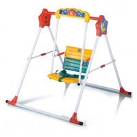 My Dear Foldable Swing with Safety Belt