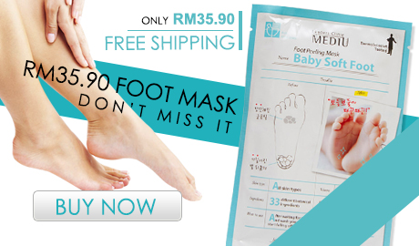 Only RM35.90 with Free shipping Foot Mask