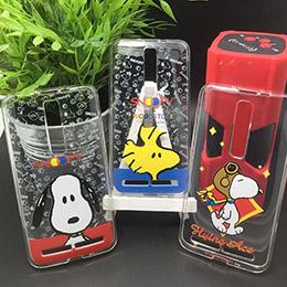 史努比 Snoopy  軟膠透明 彩繪手機殼