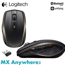 Logitech 羅技 MX Anywhere 2 無線便攜式行動滑鼠