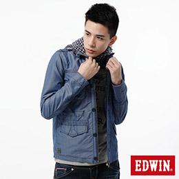 EDWIN 成品染 軍裝外套