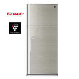 夏寶 541L 自動除菌離子雙門冰箱 SJ-SC54V