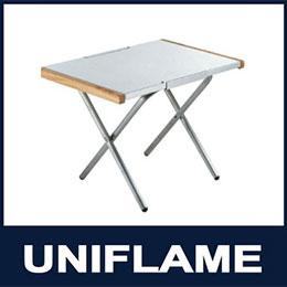 日本UNIFLAME 折疊不鏽鋼小鋼桌