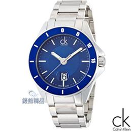 Calvin Klein大錶徑藍面脕錶