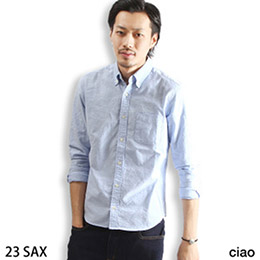 日本ZIP 牛津 釦領襯衫