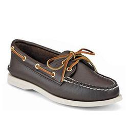 SPERRY 女士帆船鞋--布朗