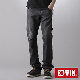 EDWIN ZERO 工作窄管直筒褲