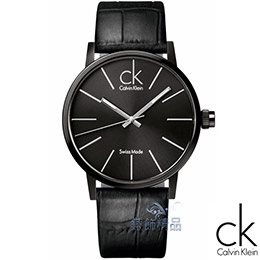 CK 時尚簡約黑色腕錶
