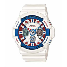 G-SHOCK GA-201TR-7A美國隊長流行腕錶
