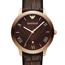 EMPORIO ARMANI/AR1613經典放射紋時尚腕錶