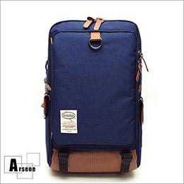 牛津布雙肩後背電腦包-4色