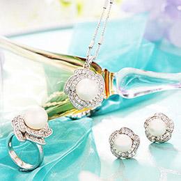 施華洛珍珠華麗套組