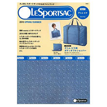 LESPORTSAC春夏情報2015 Style 3:附牛仔藍底點點圖案大行李袋