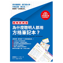【圖解範例版】為什麼聰明人都用方格筆記本?(加碼送B5方格筆記本)