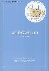 WEDGWOOD附野莓圖案帆布托特包