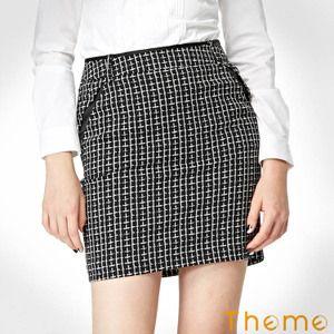 梭織半截短裙