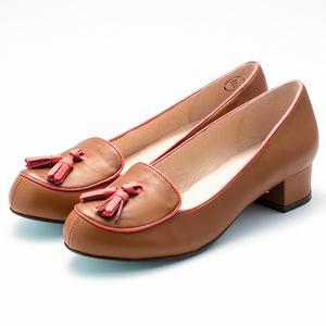 小羊皮流蘇樂福鞋