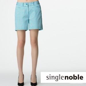 復古方格紋短褲