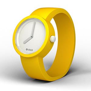 GIALLO SEGNALE / signal yellow設計錶