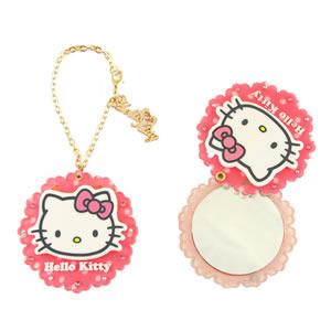 水玉點點Hello Kitty隨身鏡