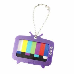 懷舊電視機票卡套