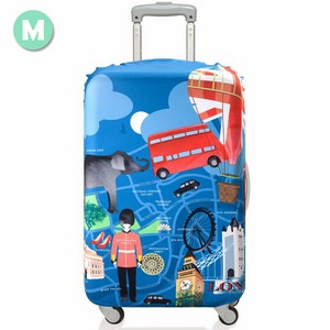 LOQI 春捲包 紐約(行李箱套) M號 (適用22-28吋)