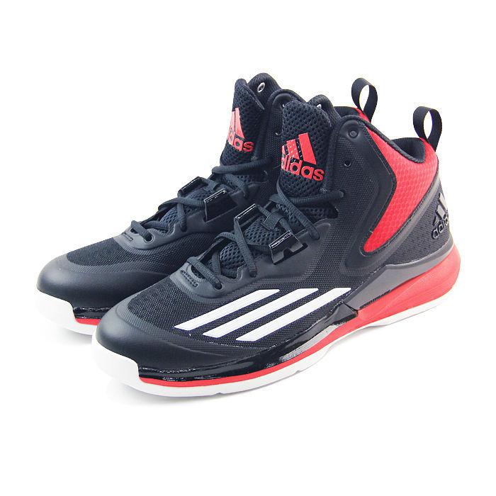 TITLE RUN 籃球鞋 黑/紅