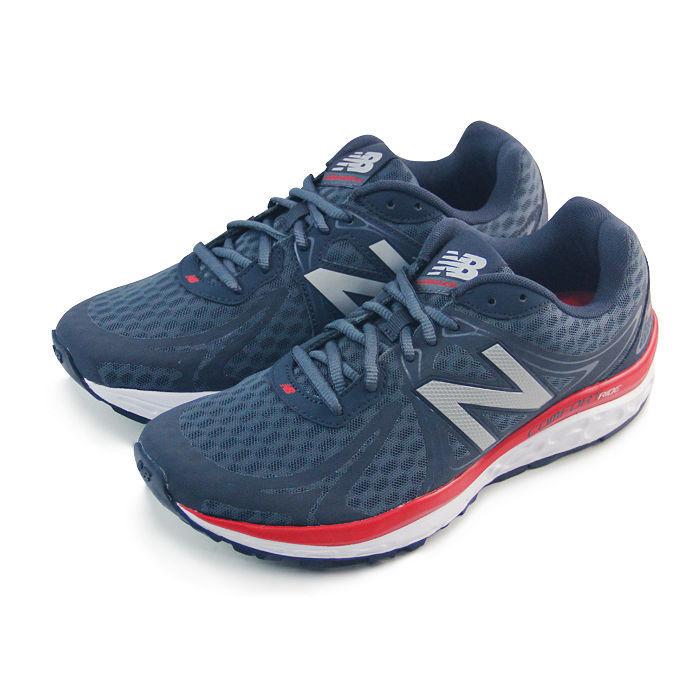 慢跑鞋 深黑藍/紅