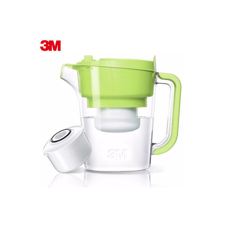 即淨長效濾水壺(1壺1濾芯)(WP3000)-綠