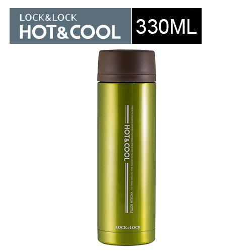 艷彩不鏽鋼保溫杯330mL 綠色 ★購物滿1500 點數25倍送