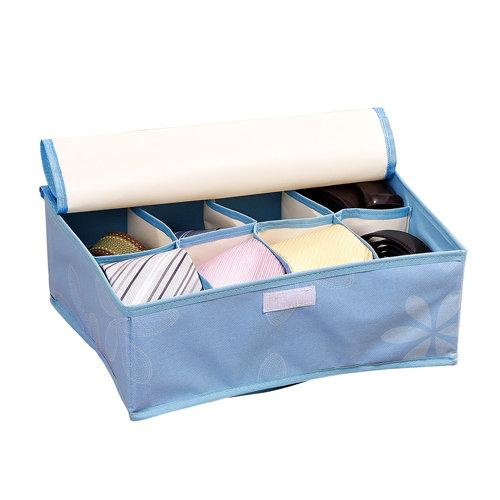 """家泰樂秒格格收納盒/8格/藍色"""""""