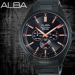 ALBA PRESTIGE系列簡約紳士計時腕錶