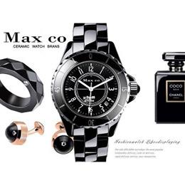 Max Max 精密陶瓷 經典時尚簡約款腕錶