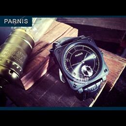 PARNIS瑞典軍錶風格│六點小秒