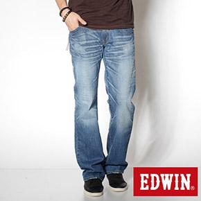 EDWIN 503B.T 麂皮直筒牛仔褲