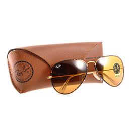 經典雷朋復古太陽眼鏡 RB3025JM琥珀&玳瑁金邊