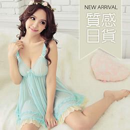 日本細緻蕾絲睡衣