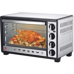 晶工30L雙溫控不鏽鋼烤箱