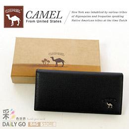 CAMEL梅爾駱駝 真皮長夾