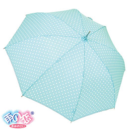 日本同布福懋防水花布勾邊直傘
