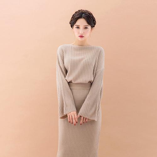 秋季淑女針織套裝