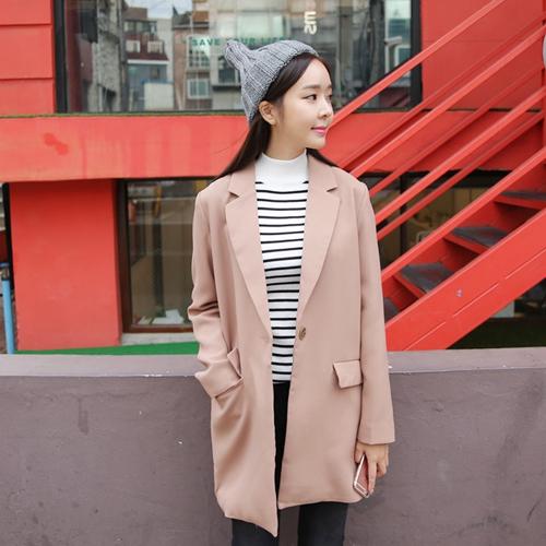 韓版百搭西裝外套