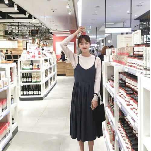 韓版時尚休閒連身裙