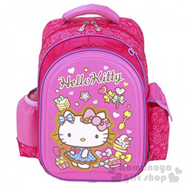 Hello Kitty 三麗鷗健康散熱軟膠護脊書包(符合人體工學)